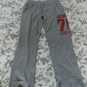 PINK Buckeye Sweatpants